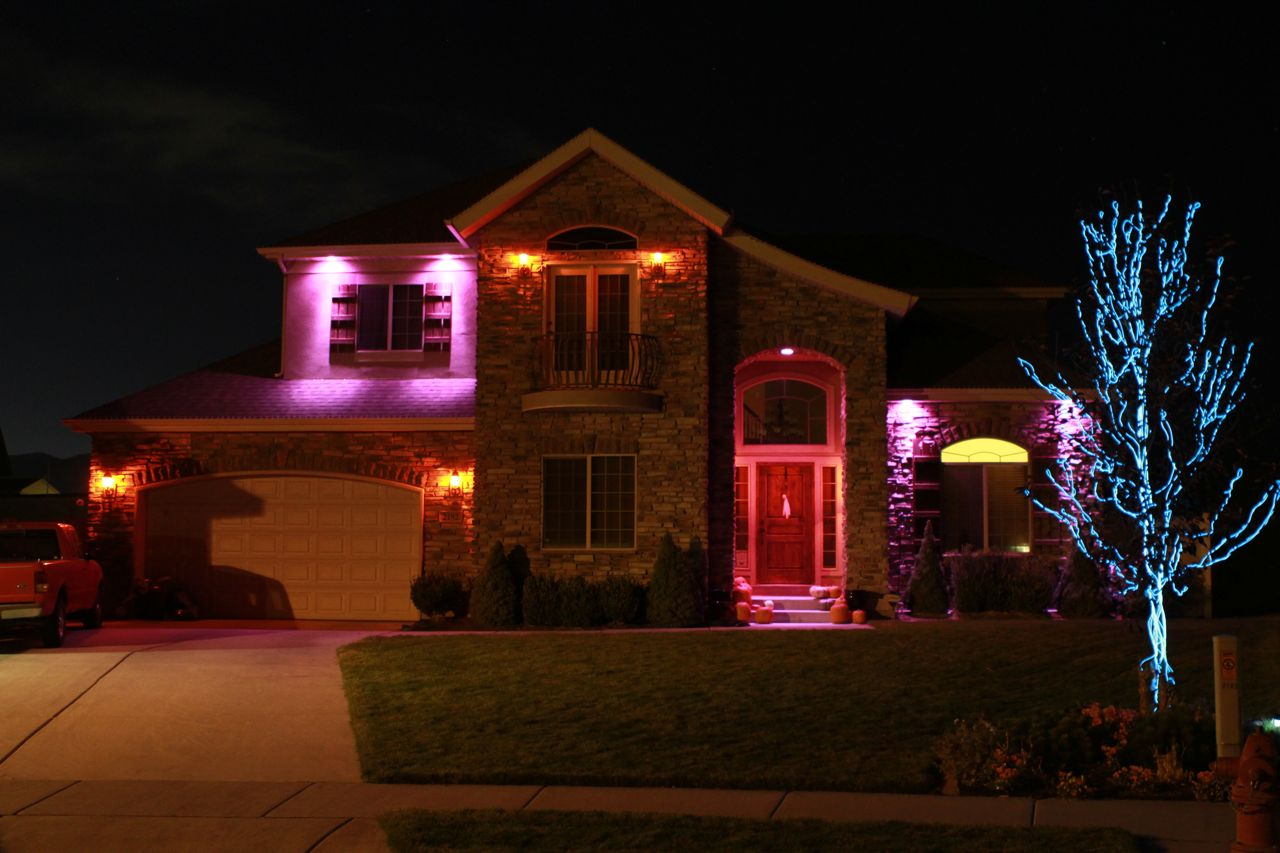 The Color Mixing Christmas Light Project » Photo / Video Clips