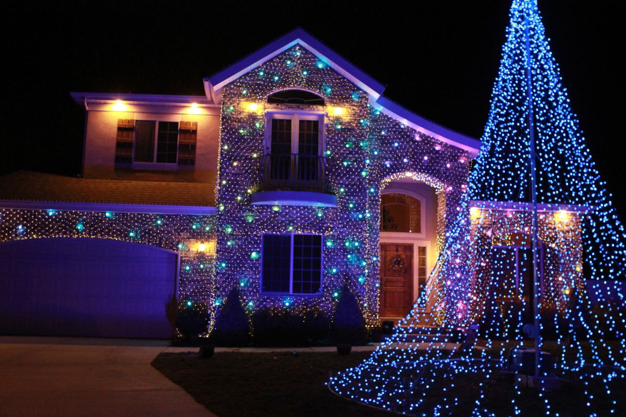 cool christmas house lighting. Our Cool Christmas House Lighting F