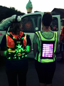 Running Vest at Night