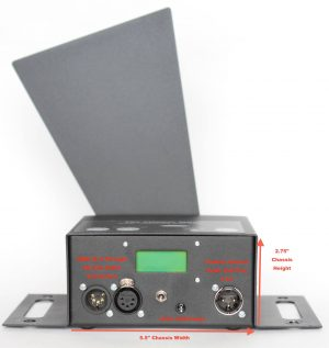 DMX Controlled Video Projector Shutter