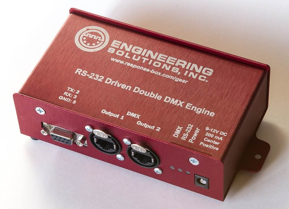 RS232 DMX Engine - RJ45 Output